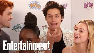 Download 'Riverdale' Cast Rate How Troublesome New Season 2 Characters Are | SDCC 2017 | Entertainment Weekly Video