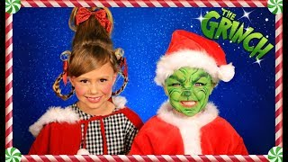 Download The Grinch and Cindy Lou Who Christmas Makeup, Hair, and Costumes Video
