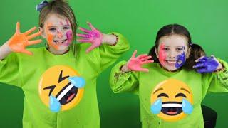 Download Melody och Chanell målar av varandra (Porträtt Challenge) Video