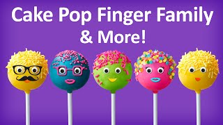 Download Cake Pop Finger Family Collection | Top 10 Finger Family Collection | Finger Family Songs Video