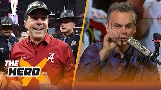 Download Colin Cowherd reacts to Nick Saban winning his 6th National Championship | THE HERD Video