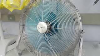 Download Sekai 18″ non oscillating HV fan Video