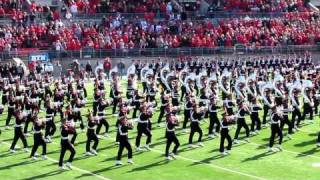 Download Ohio State University Marching Band Ramp Entry, Script Ohio & Pre-game OSU vs IU. 11 5 2011 Video