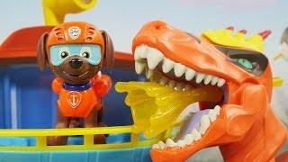 Download Atak Dino | Psi Patrol & Dino Trux | Bajki dla dzieci Video