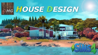 THE SIMS 4 House design Tour - Modern Costa Lota Free Download Video