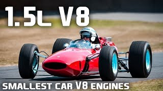 Download 10 Of The Smallest Car V-8 Engines Ever Video