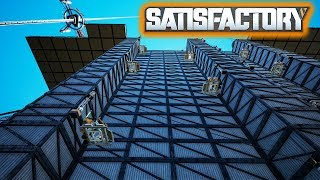 Download FAST and FUN Jump Pad Elevator Design in Satisfactory (Tutorial) Video