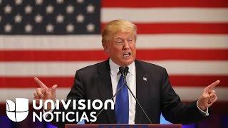 Download Donald Trump propone retirar la ciudadanía y castigar con cárcel a quienes quemen la bandera de Esta Video