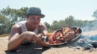 Download EP 1 - MUDCRAB HUNT with Chilli Recipe (Crab vs Beer) | Catch n Fry Video