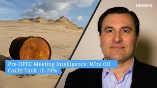 Download Pre-OPEC Meeting Intelligence: Why Oil Could Tank 10-20% Video