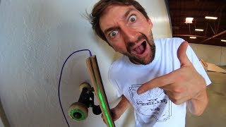 Download A SKATEBOARD YOU CAN PLUG IN! Video