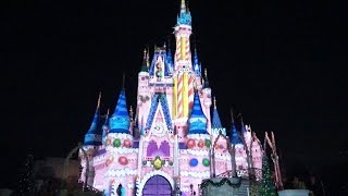 Download 2015 Celebrate The Magic Christmas Holiday Finale - Projection Castle Show at Walt Disney World Video