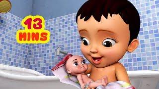 Download சமத்து பாப்பா ஜோரா குளிச்சாச்சு | Tamil Rhymes for Children | Infobells Video