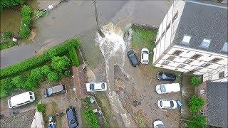 Download Vues aériennes par drone des inondations de Breteuil pour France 2 Video