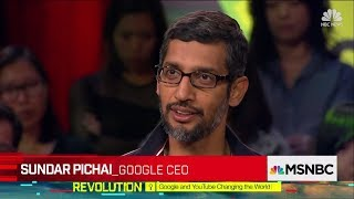 Download Sundar Pichai about AI - Latest Interview Video
