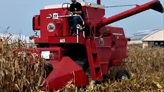 Download Antique International Plowing and Harvesting Video