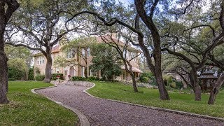 Download English Manor Home with French Eclectic Details in San Antonio, Texas Video