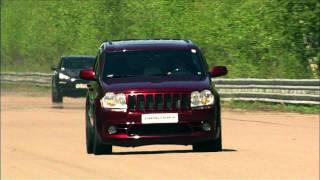 Download Jeep SRT-8 vs Ford Mustang vs Porsche 911 Turbo vs Porsche Cayenne vs BMW X6M Video
