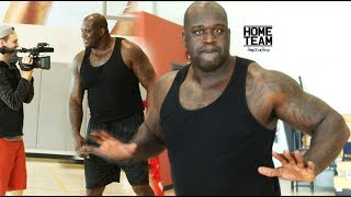 Download SHAQ Still Has It! Steph Curry Range - 1 ON 1 Game vs James Hunt Video
