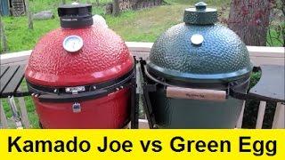 Download Big Green Egg vs Kamado Joe Ceramic Grills Video