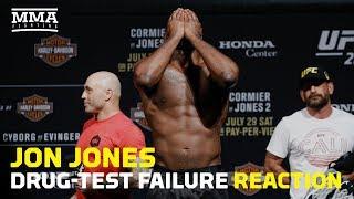 Download Jon Jones Drug-Test Failure Reaction - MMA Fighting Video