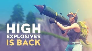 Download HIGH EXPLOSIVES IS BACK! (Fortnite Battle Royale) Video