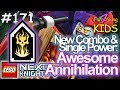 Download LEGO NEXO KNIGHTS: MERLOK 2.0 // #171 NEW POWER & COMBO: AWESOME ANNIHILATION vs JESTRO Video