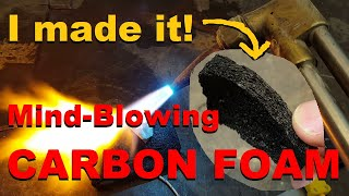 Download Carbon Foam: an incredible material made from everyday items. Video