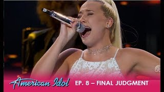 Download Gabby Barrett: WOWS The Crowd For The Final Judgment! | American Idol 2018 Video