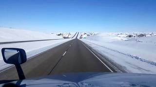 Download BigRigTravels LIVE! Miles City to Fallon, Montana Interstate 94 East-Feb. 20, 2018 Video