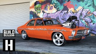 Download Kranky Invades the Yard! 1400hp WILD Aussie Burnout Machine smokes us out Video