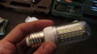 Download LED лампы для освещения гаража - заказ с Ali Express Video