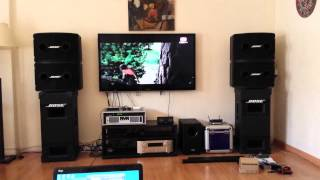 Download Equipo bose 802 +502 + lab gruppen Video