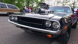 Download SUPERCHARGED 572 HEMI Dodge Challenger - Amazing V8 Sound! Video