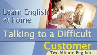 Download Call Centre English - Talking To A Difficult Customer - English For Business Video