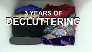 Download From Hoarder/Materialist to Minimalist Journey | 3 years decluttering time-lapse | 2018 Video