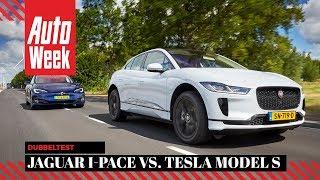 Download Jaguar I-Pace vs Tesla Model S 75d - AutoWeek dubbeltest - English subtitles Video