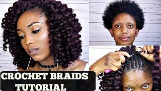 Download How To Crochet Braids Tutorial | Beginners Friendly Video
