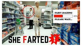 Download FUNNY WET FART PRANK !! Hot Girl farts! Pooter Video