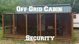 Download Off Grid Cabin Security: Keeping The Bad Guys Out Video
