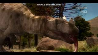 Download Ceratosaurus hunting scene Video