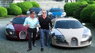 Download Arnold Schwarzenegger's Cars VS Sylvester Stallone's Cars ★ 2019 Video