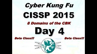 Download Larry Greenblatt's 8 Domains of CISSP - Day 4 (From 2015) Video