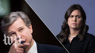 Download Wray vs. the White House on Porter's background check Video