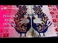 Download wow! Woolen Colourful peacock Woolen Ason Design | Beautiful Woolen Stitch Ason Design | Video