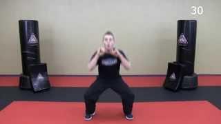 Download 33 Minute Krav Maga Workout - Lower Body HIIT + Krav Combatives Video