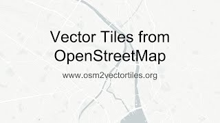 Download Vector Tiles from OpenStreetMap Video