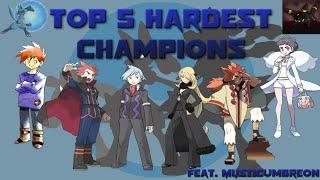 Download Top 5 Hardest Champions in Pokémon (Feat. MysticUmbreon) Video