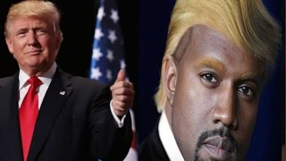Download Twitter Goes CR@ZY After Kanye West Revealed He's Team Trump+Donald Trump Speaks out Video