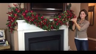 Download How To Create a Spectacular Christmas Garland for Your Mantel (Full Length) Video